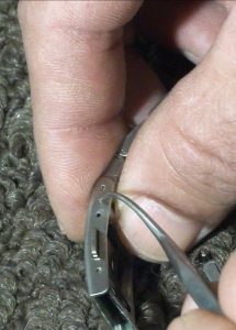 Removing Pin From Seiko Watchband Clasp