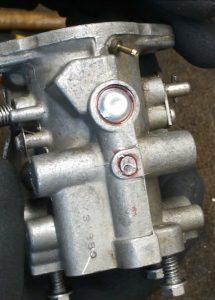 Sealed Carburetor Access Ports
