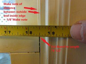 Cat Door Window Sash Measurement