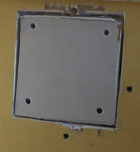 Sheetrock Drywall Patch