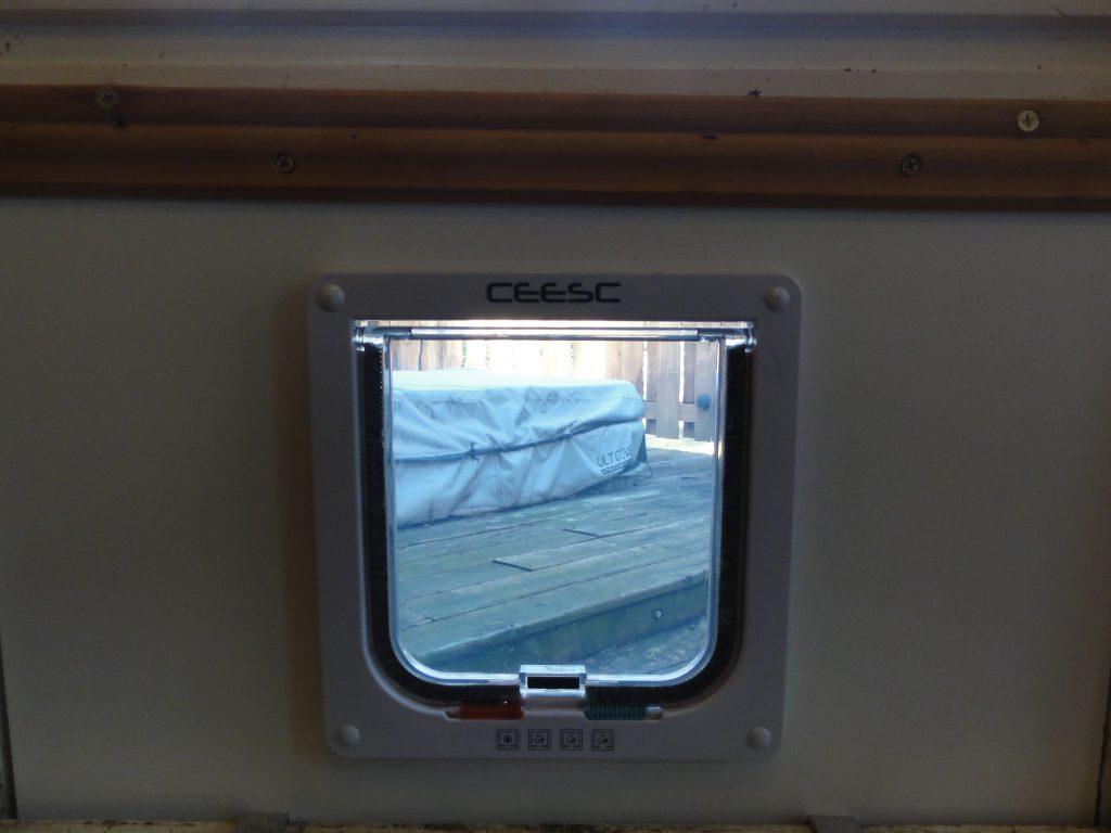 Finished Car Door In Window Inside View