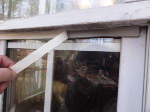 Cat Door Weather Stripping Install