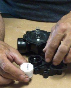 QEV Sprinkler Valve Air Cannon pvc plug