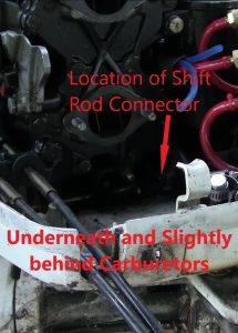 1988 Johnson Evinrude Shift Rod Linkage Connector