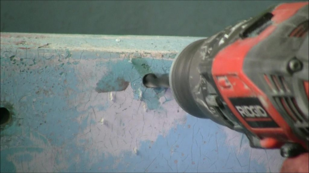 Patching Small Hole in Fiberglass