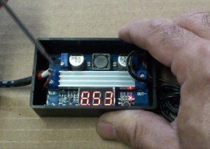 adjusting cannon battery charger voltage