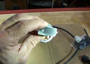 Chainsaw sharpener adjustment gauge