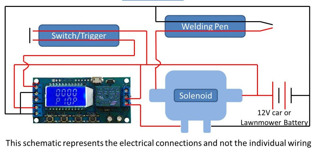 spot welder schematic