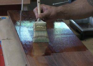 tipping off spar varnish