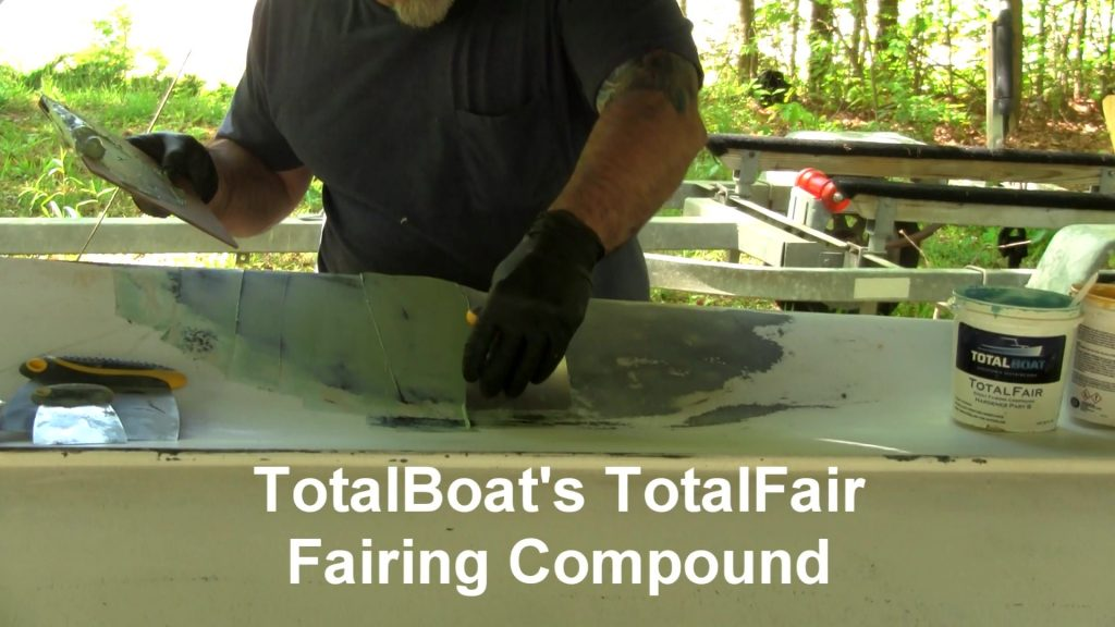 applying fairing compound