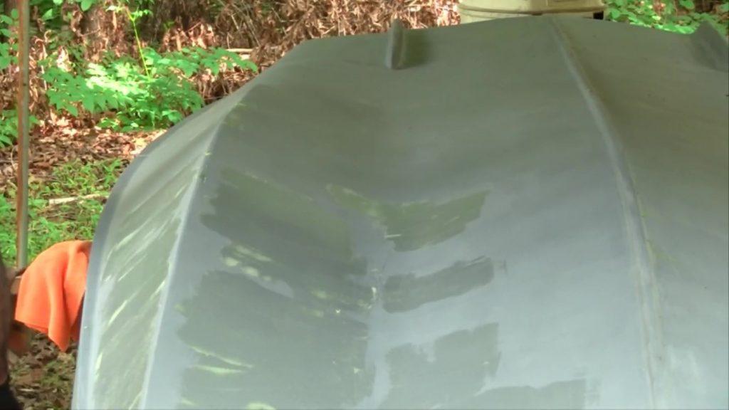 fairing spider cracks over epoxy primer