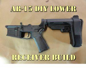 DIY AR 15 Lower Receiver Build
