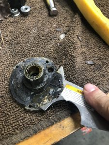 Bearing Case - Removing old Gasket