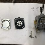 Disassembled Walbro Carburetor
