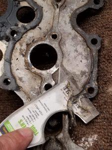Removing Old Gasket