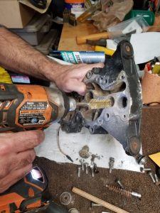 Cleaning Outboard Thermostat well