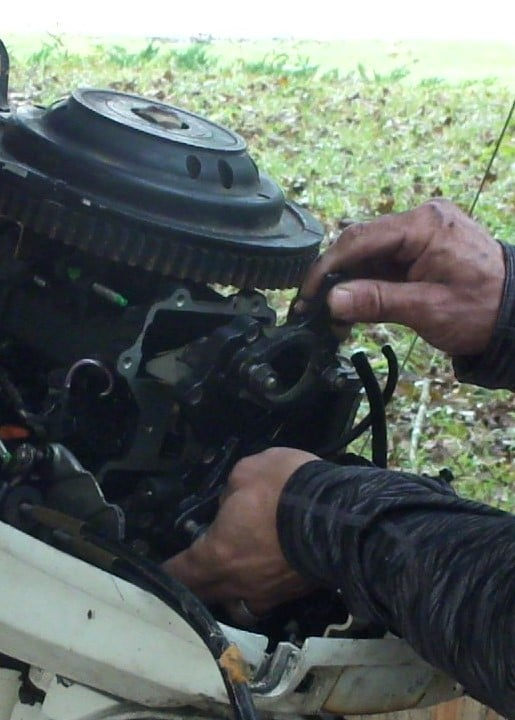 Removing the Manifold and Reeds