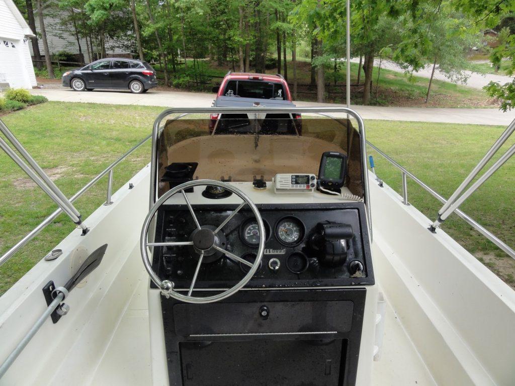 Restored Wahoo 18 CC Cockpit